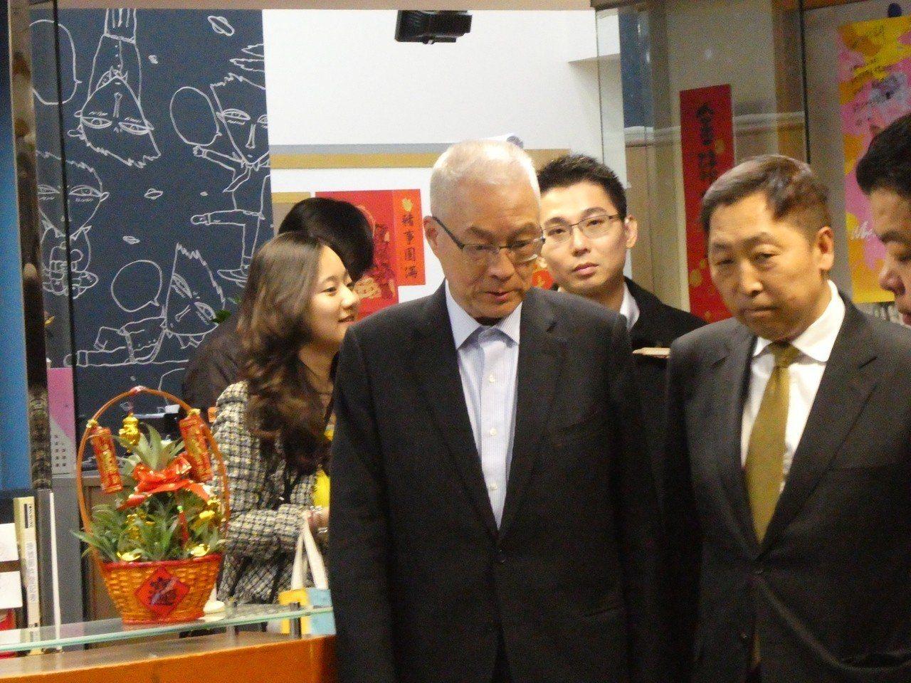 前副總統吳敦義。 記者周志豪/攝影