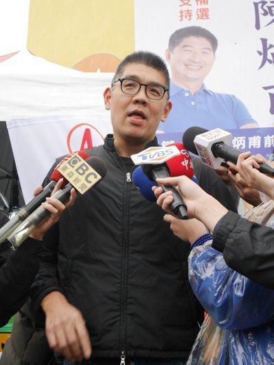 國民黨中央委員連勝文。 記者陳靖宜/攝影