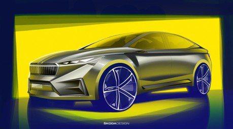 十款電動車2022年前現身 ŠKODA Vision iV預告日內瓦發表