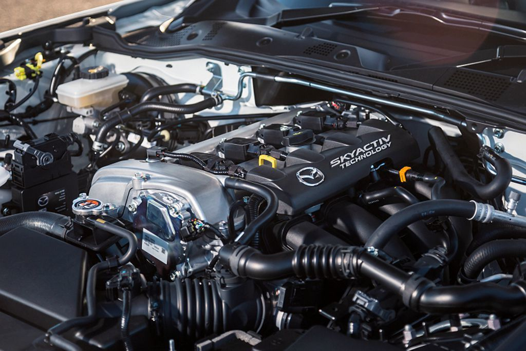 Mazda汽車針對SKYACTIV-G 2.0引擎進化,讓馬力輸出從160ps提...