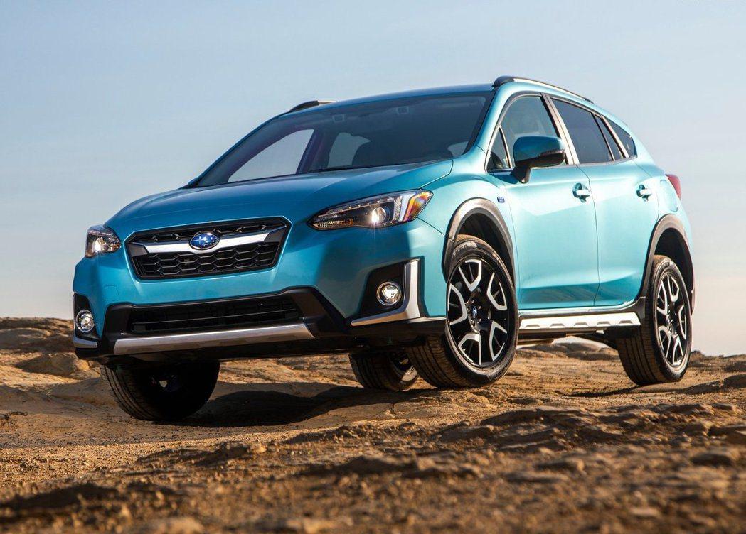 去年Subaru推出插電式油電的Crosstrek Hybrid。 摘自Suba...