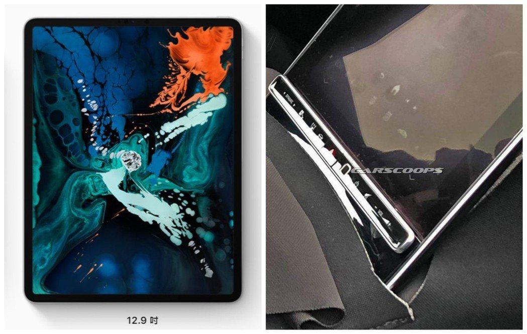 外媒戲稱新世代S-Class的中控螢幕比起12.9吋的Apple iPad Pr...