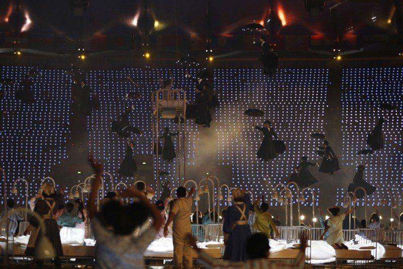 2012年倫敦奧運開幕典禮上,經典歌舞片《歡樂滿人間》也作為表演項目之一。 圖/...