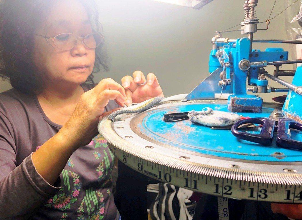 紡織業的沒落不能只歸因於時代變遷,還有技藝的世代斷層。 記者張瀞文/攝影
