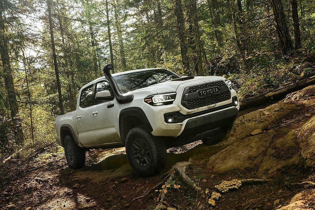 2015年1月推出的第三代Toyota Tacoma,為維護銷售戰力並防守For...