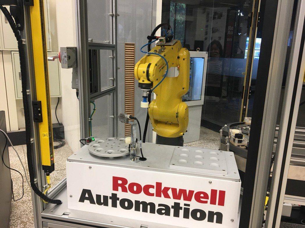 本次產學合作計畫更設置「智慧製造實驗室」,作為展示場域。 洛克威爾/提供
