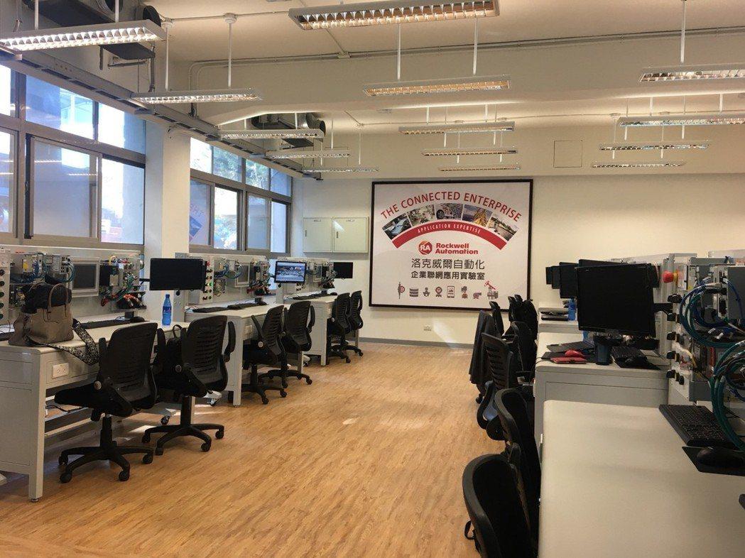 洛克威爾自動化推動產學合作計畫,特別於逢甲大學內設置「企業聯網應用實驗室」。 洛...