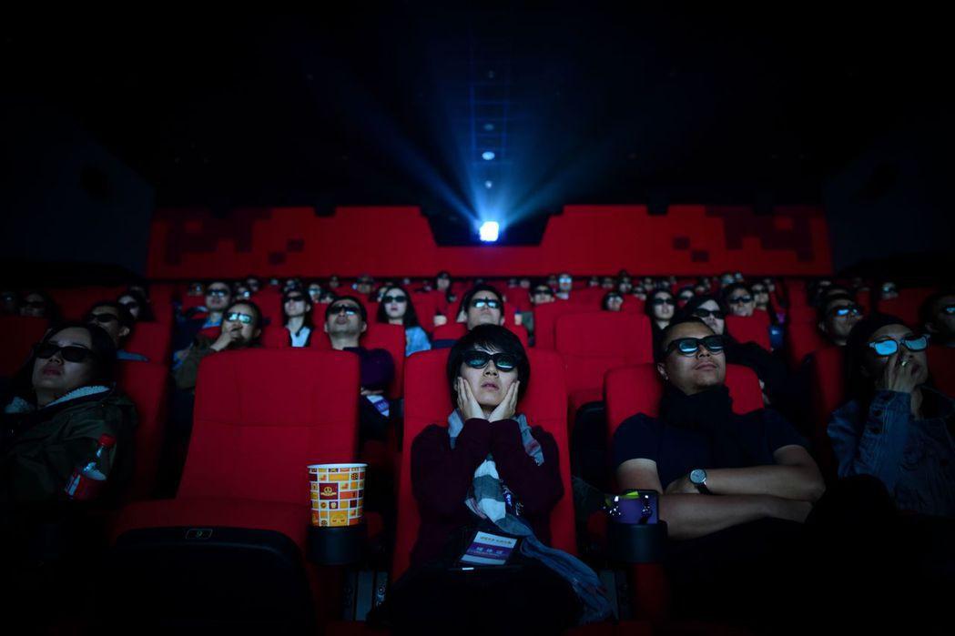 中國的電影大片時代成長收緩? 圖/法新社