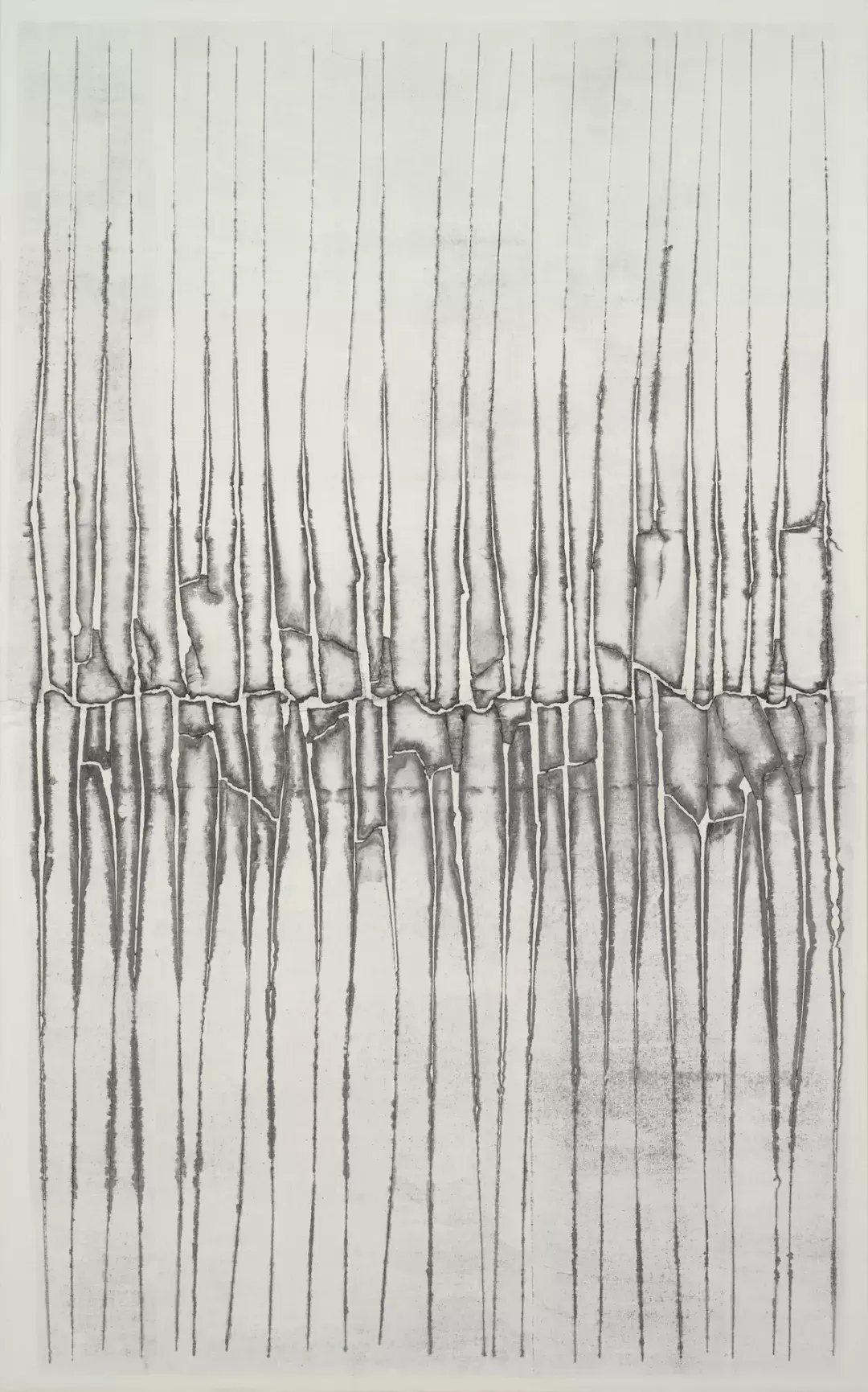 權寧禹 (1926-2013) 〈無題〉1984 韓紙面水粉 水墨 259 x...