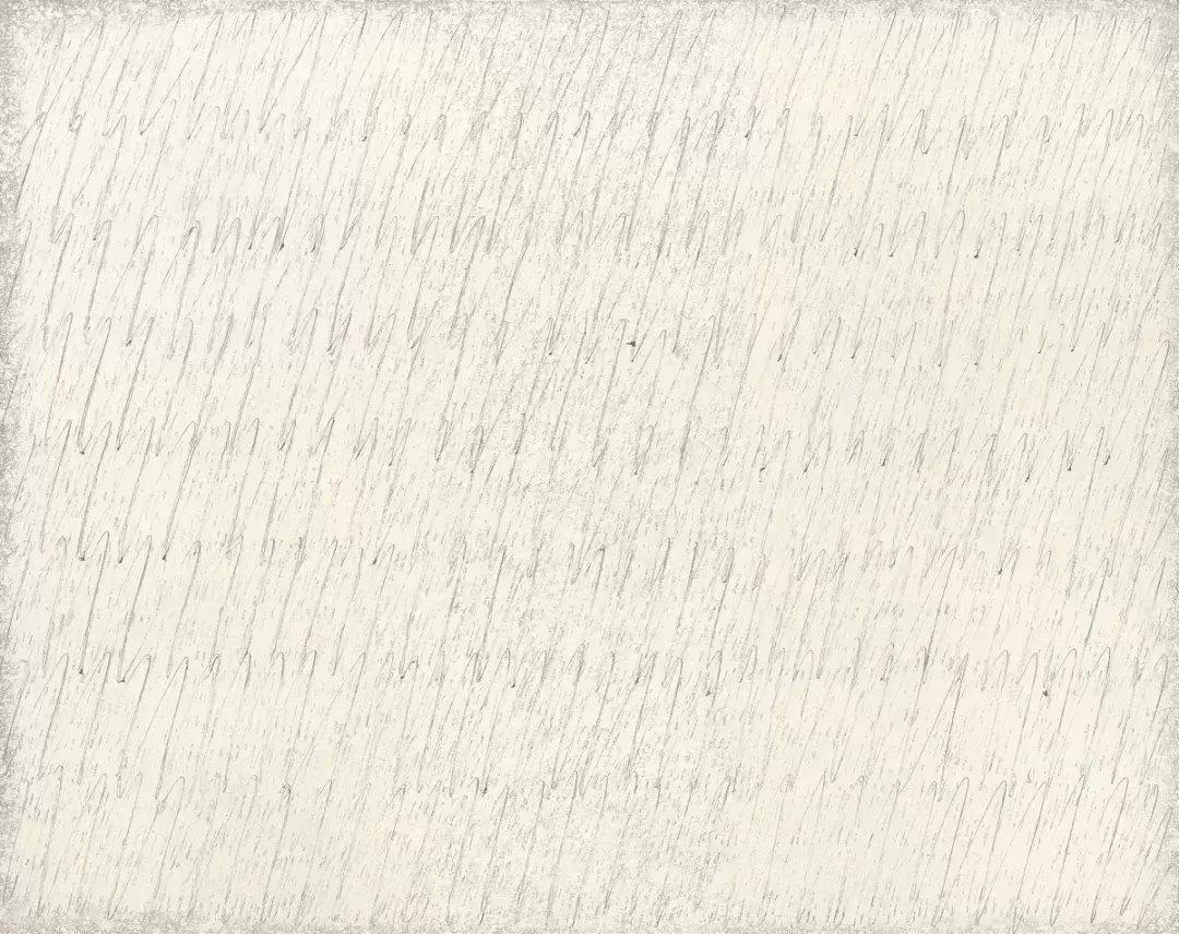 朴栖甫 (b. 1931) 〈描法 No. 18-81〉1981 布面鉛筆 油畫...