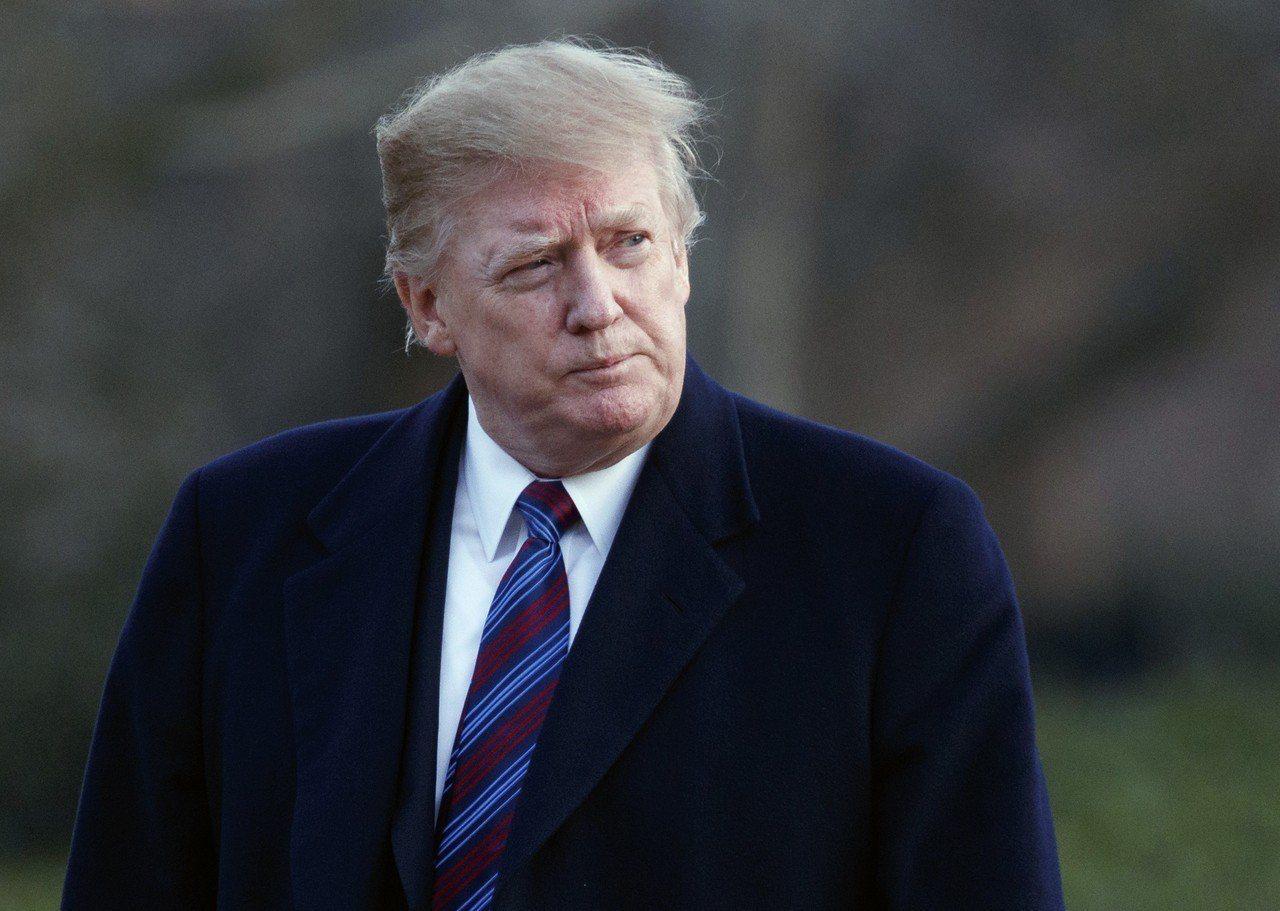 川普表示美中貿易談判進展順利。 美聯社