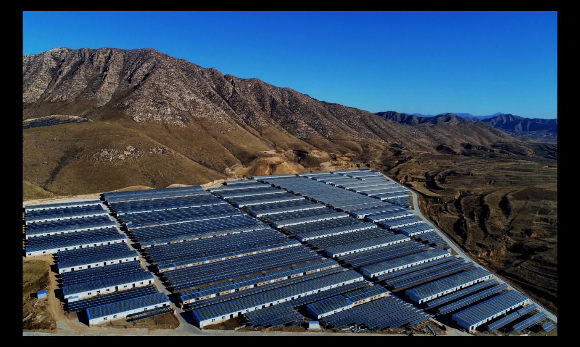 大陸積極推動太陽能發電,如今最新目標是要領先全球在太空建立太陽能發電站。圖為河北...