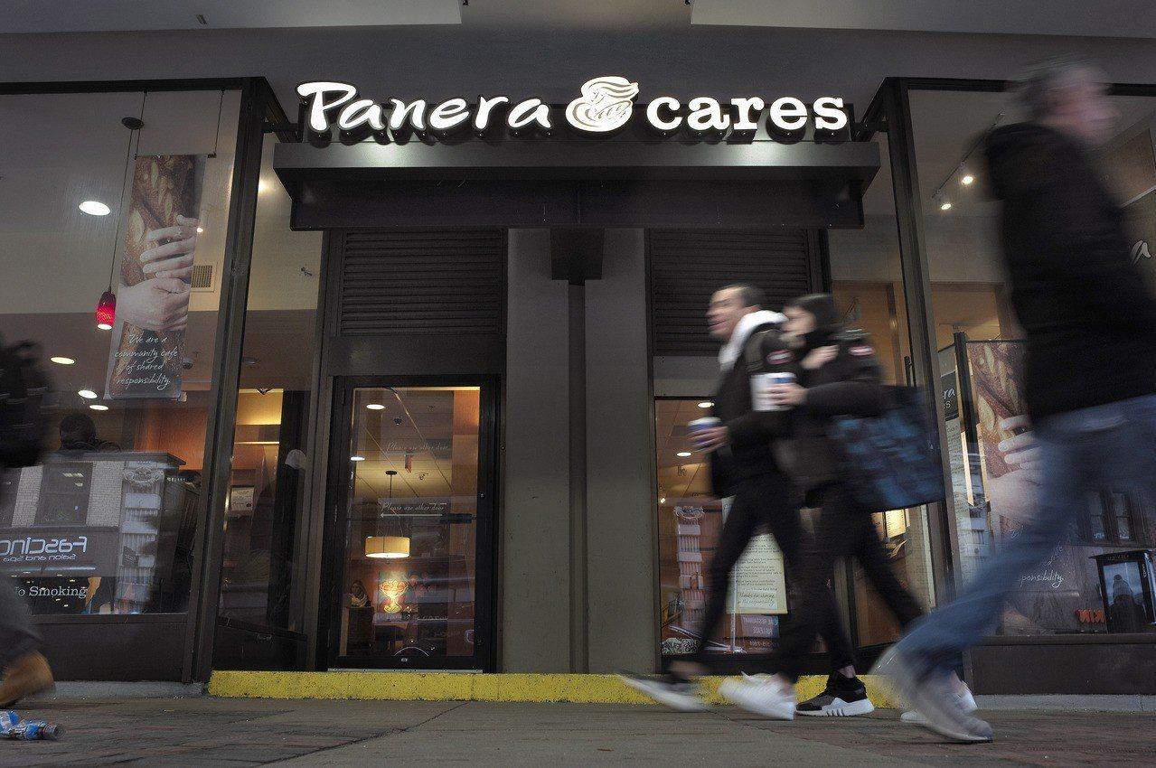 消費Panera Cares店內的餐食,付多少錢看顧客方便。 美聯社