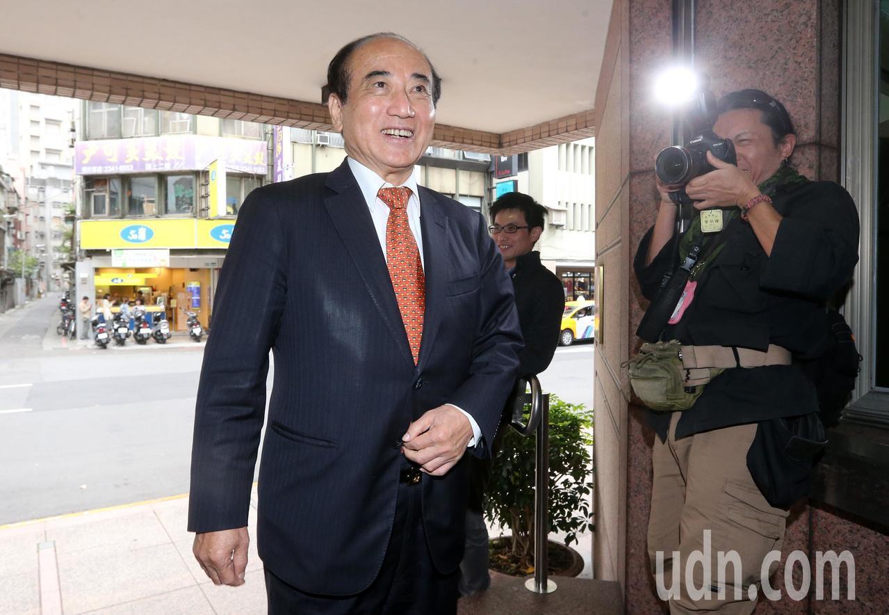 立法院前院長王金平(圖)今天出席國民黨立法實務研討會,對於國民黨總統提名辦法,王...