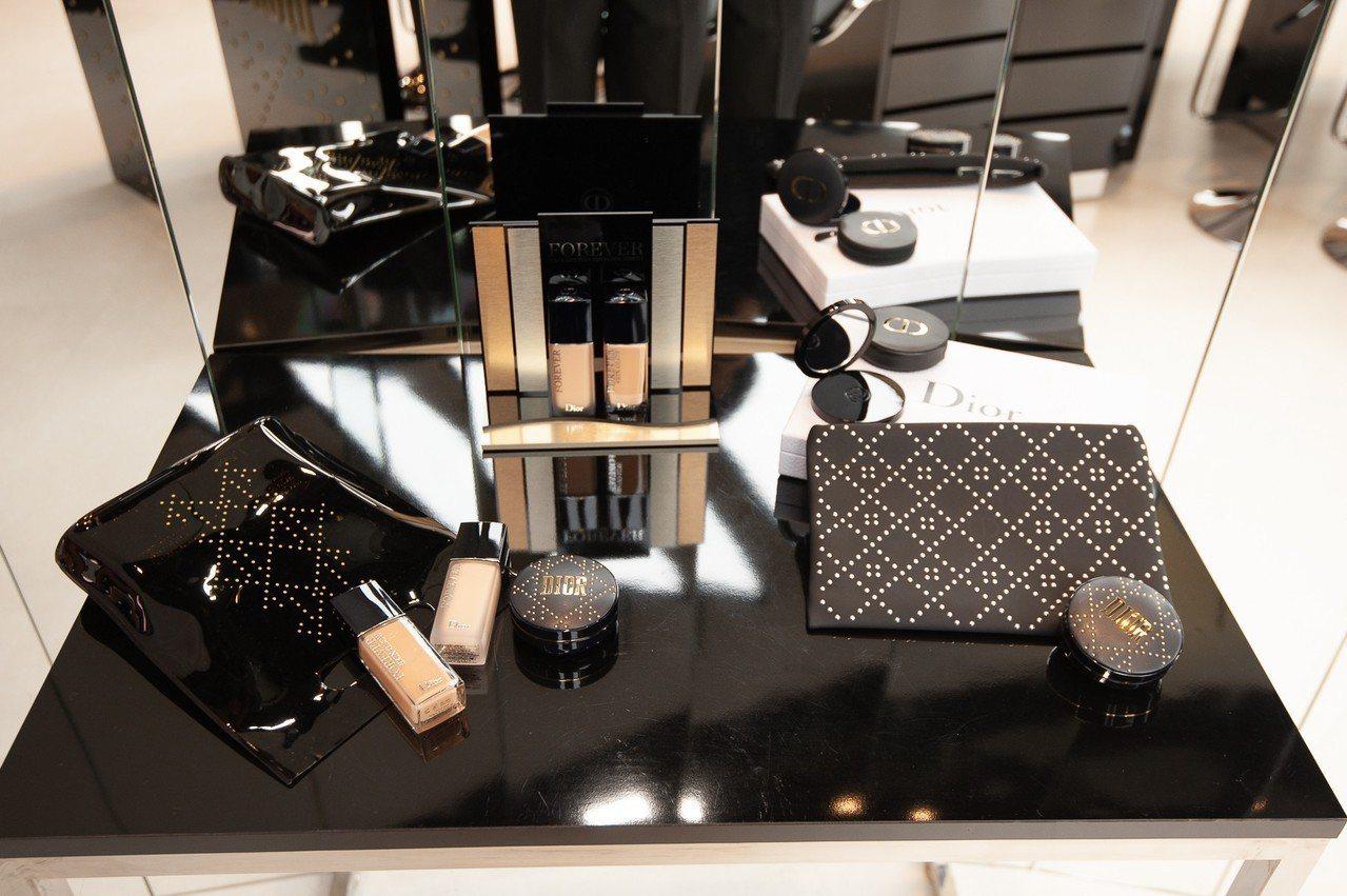 Dior超完美底妝系列,掀起搶購風潮。記者劉小川/攝影