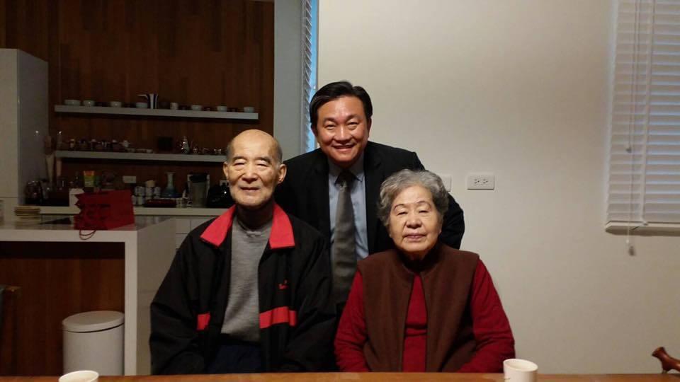 長老教會牧師高俊明今天下午5點傳因病逝世。記者綦守鈺/翻攝自王定宇臉書