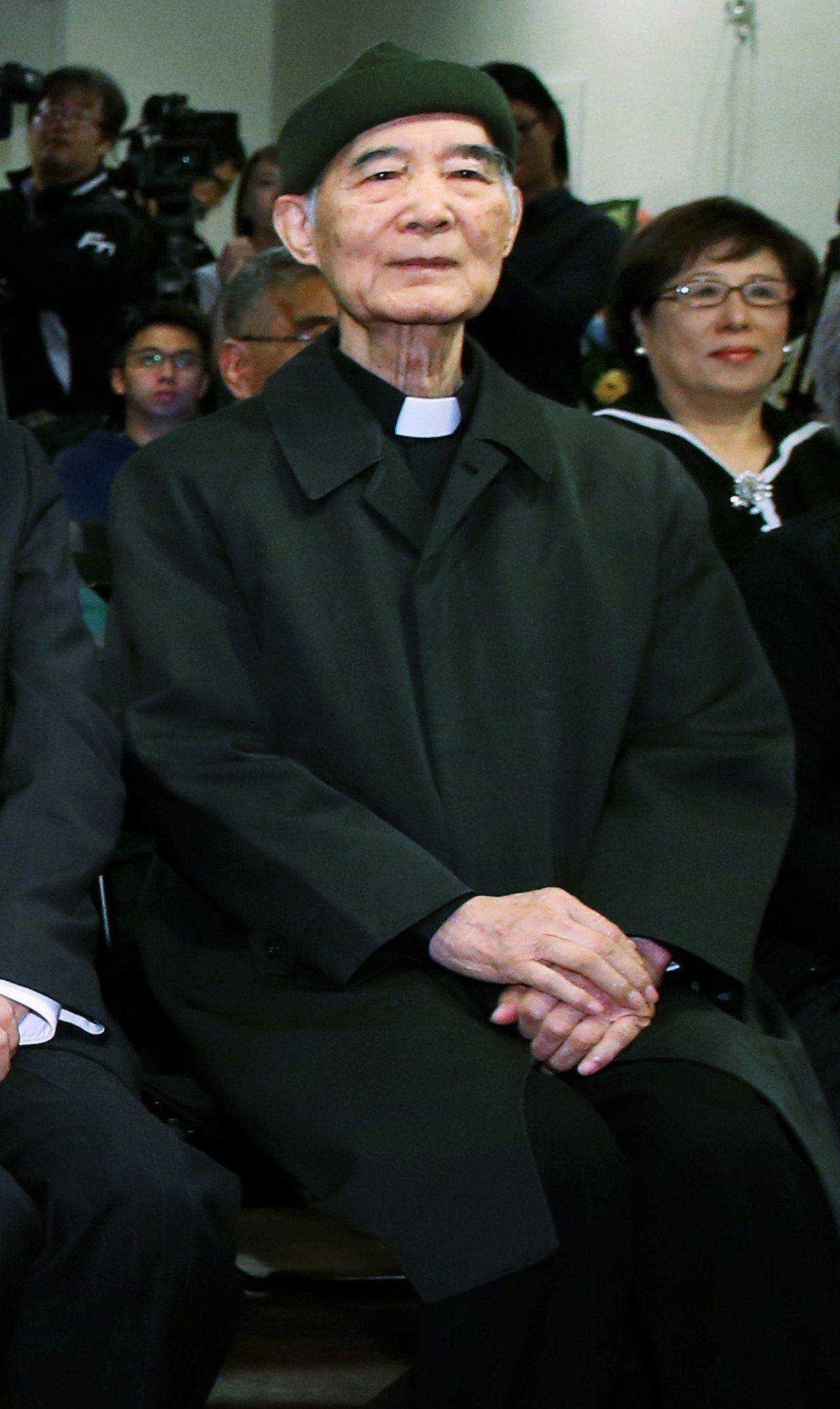 台灣基督長老教會前總幹事高俊明牧師過世,享耆壽90歲。圖/聯合報系資料照