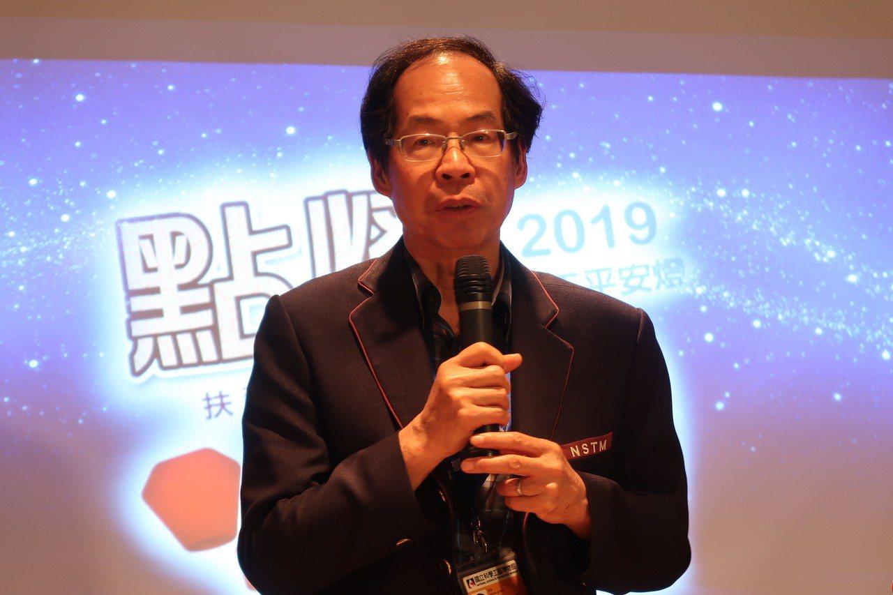 科工館長陳訓祥表示,用科技滾動幸福,用消費則可以改變世界。記者徐如宜/攝影