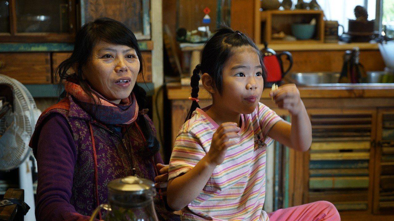 李代賢與女兒。圖/願景工程