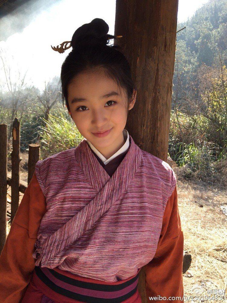 柴蔚也曾在「芈月傳」扮演青春期的芈月。圖/擷自微博