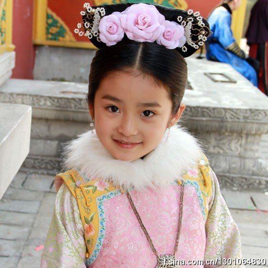 柴蔚在「步步驚心」中飾演「承歡格格」。圖/擷自微博