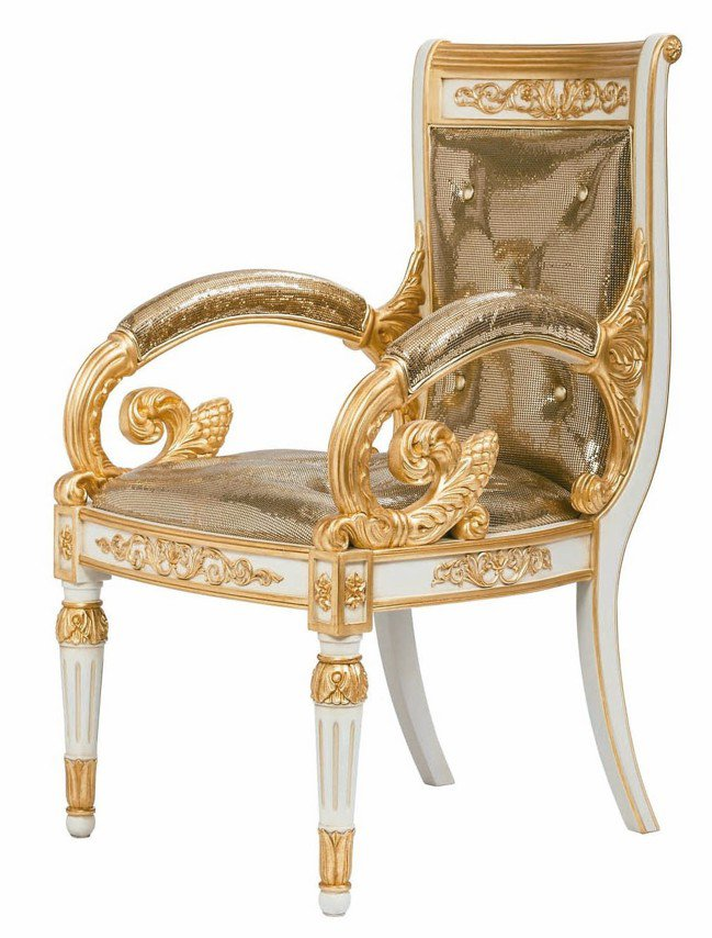 Versace Home 2018 Vanitas座椅系列。 圖/各品牌提供