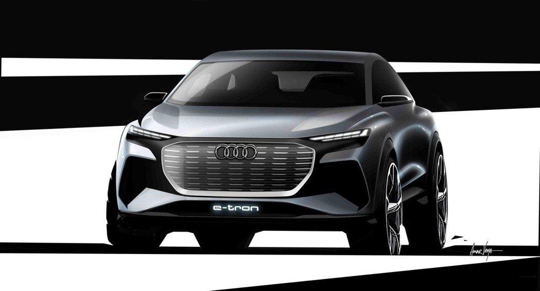 Audi Q4 e-tron concept。 圖/台灣奧迪提供