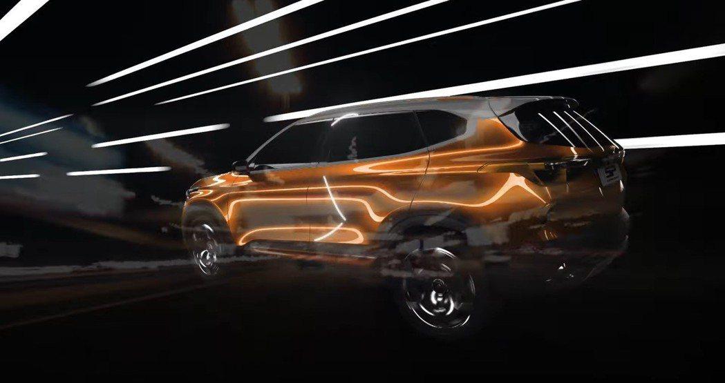 Kia SP Concept。 截自Kia影片