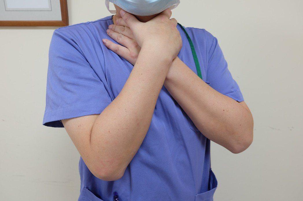 缺氧示意圖。圖/宜蘭縣羅東博愛醫院提供
