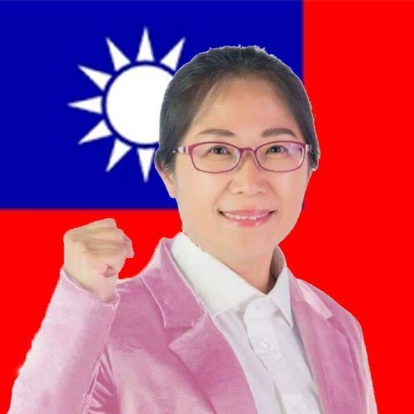 基隆市議員呂美玲以前像古板女老師、老學究。圖/取自呂美玲臉書