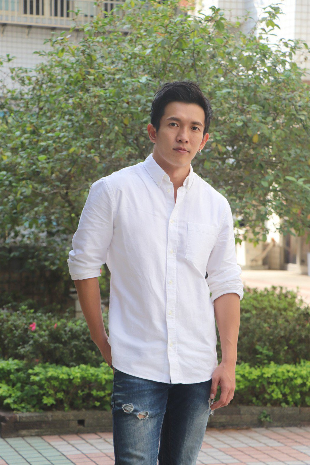 黃尚禾坦言去年底已和女友分手。圖/祖與占影像製作提供
