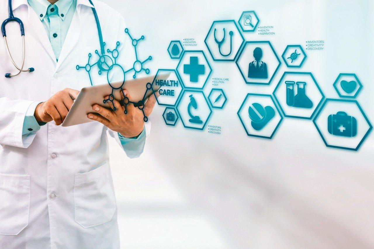 AI人工智慧可以輔助醫療。 圖/123RF