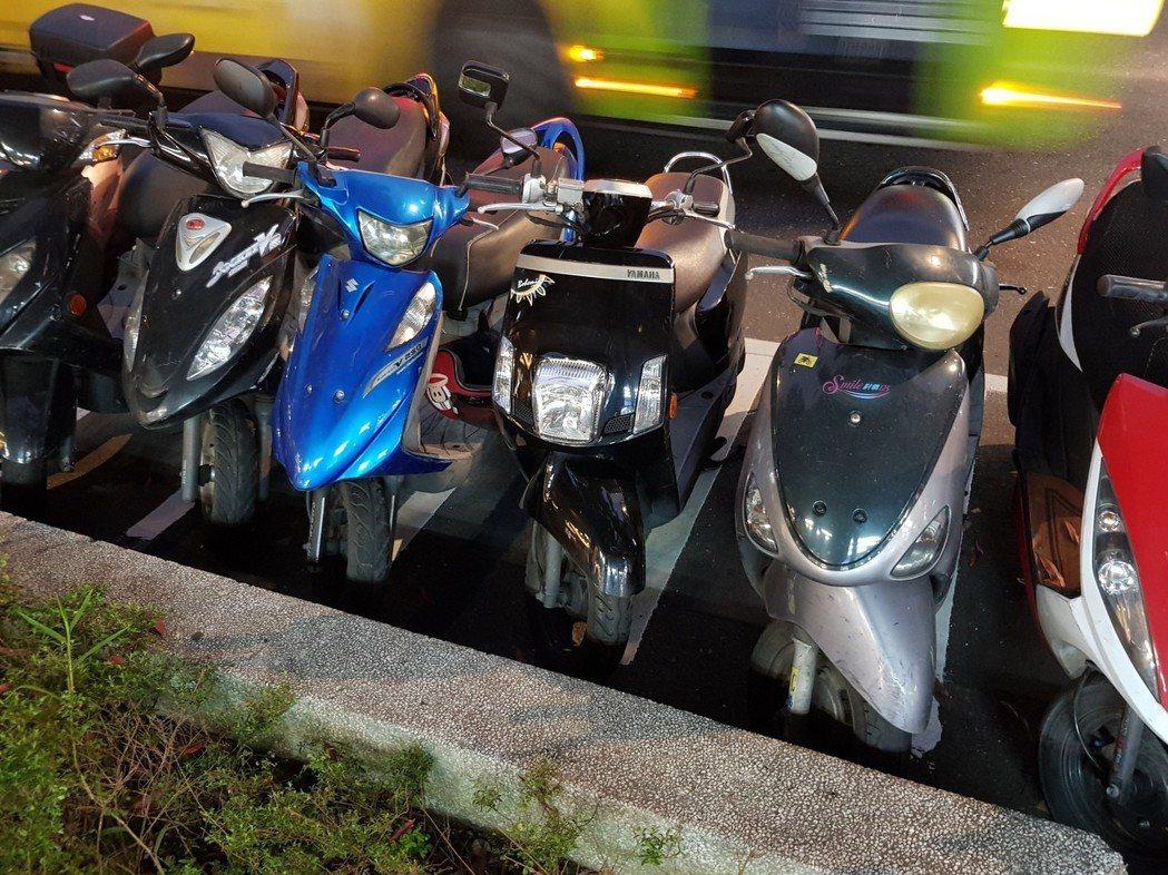 根據停管處近兩年調查,萬華、大同、信義、中山、大安等5個行政區,機車停車格需求比...