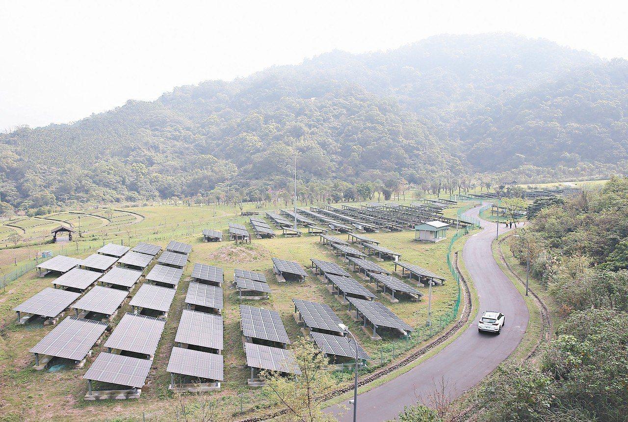 台北能源之丘2.0昨天啟用。 記者曾吉松/攝影