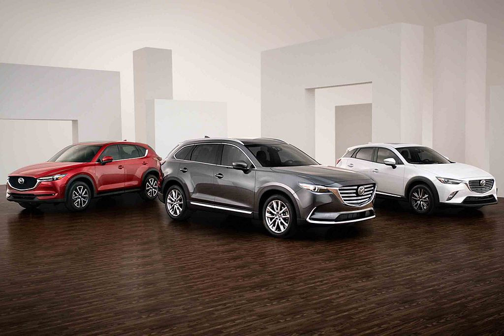 Mazda汽車在美國市場目前僅有CX-3,CX-5和CX-9三款休旅銷售陣容,未...