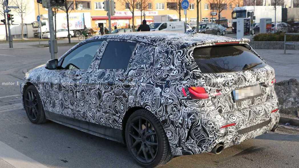 大改款BMW 1-Series將在今年發表。 摘自Motor 1