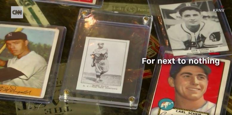 美國加州卡片收藏家鮑爾(Dale Ball)用60元買下價值近億的稀有限量棒球卡...