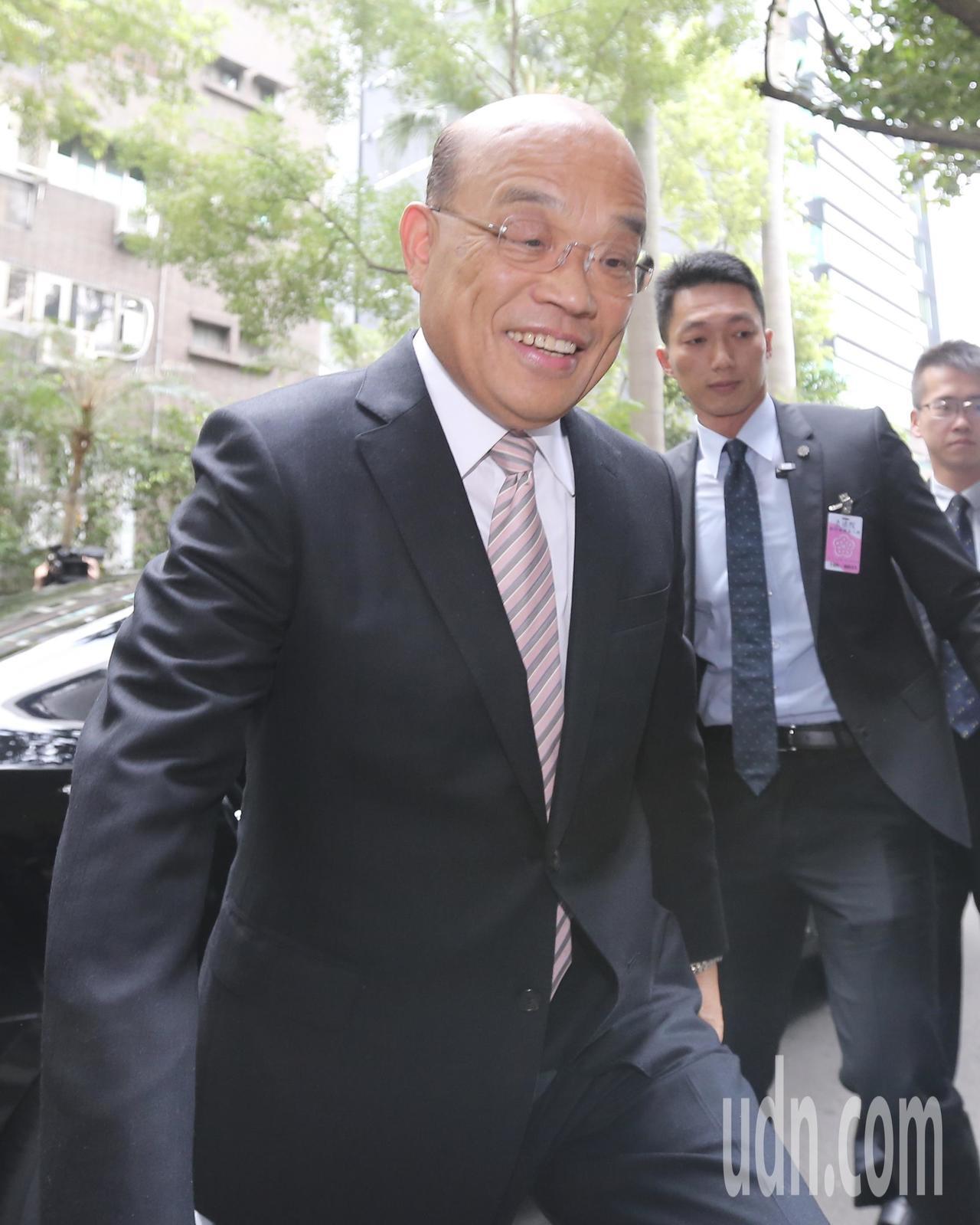 閣揆蘇貞昌昨天到立法院展開新會期的備詢。記者許正宏/攝影