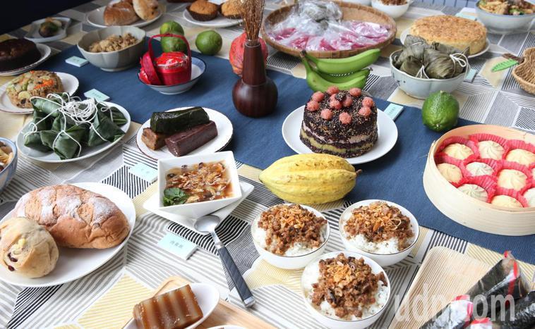 各式米食。記者林俊良/攝影