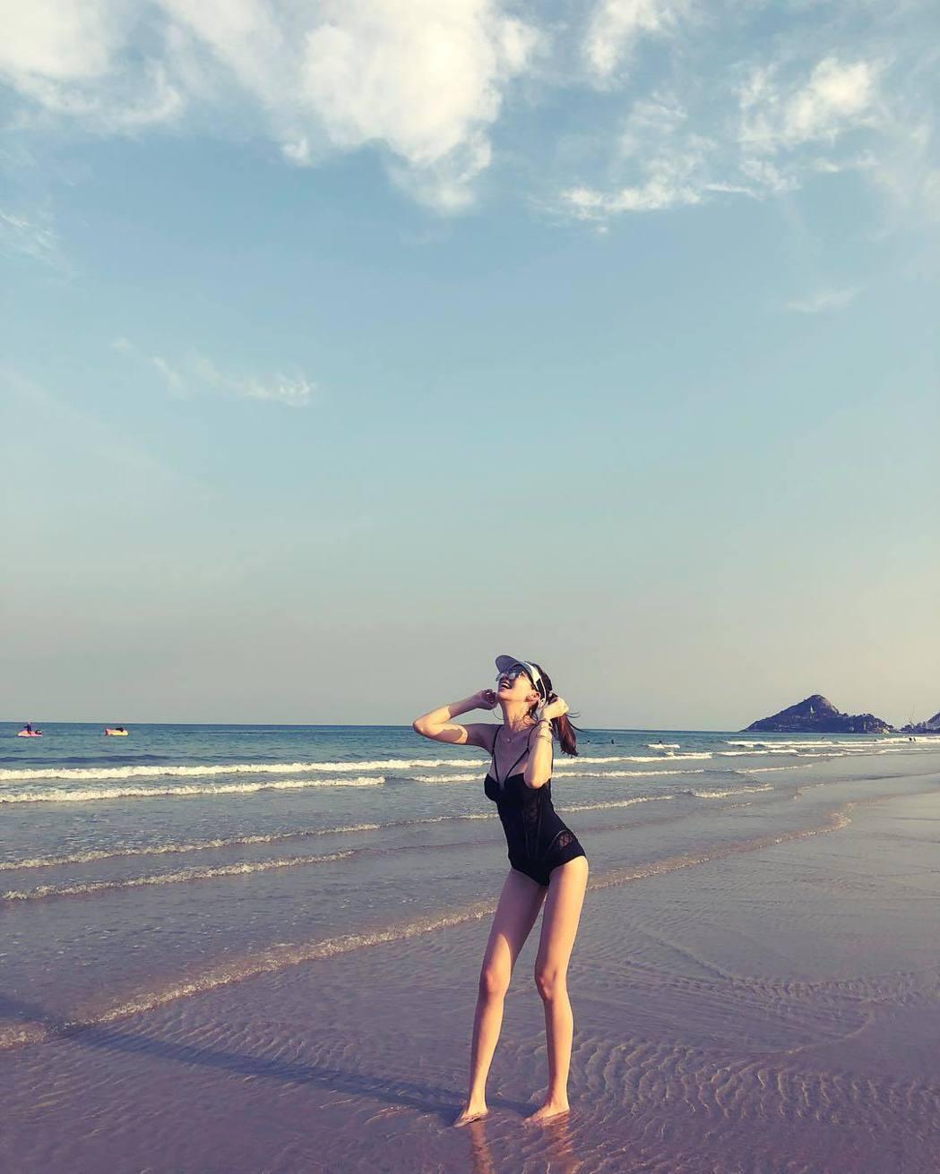 陳若儀在IG分享旅行美照。圖/摘自IG
