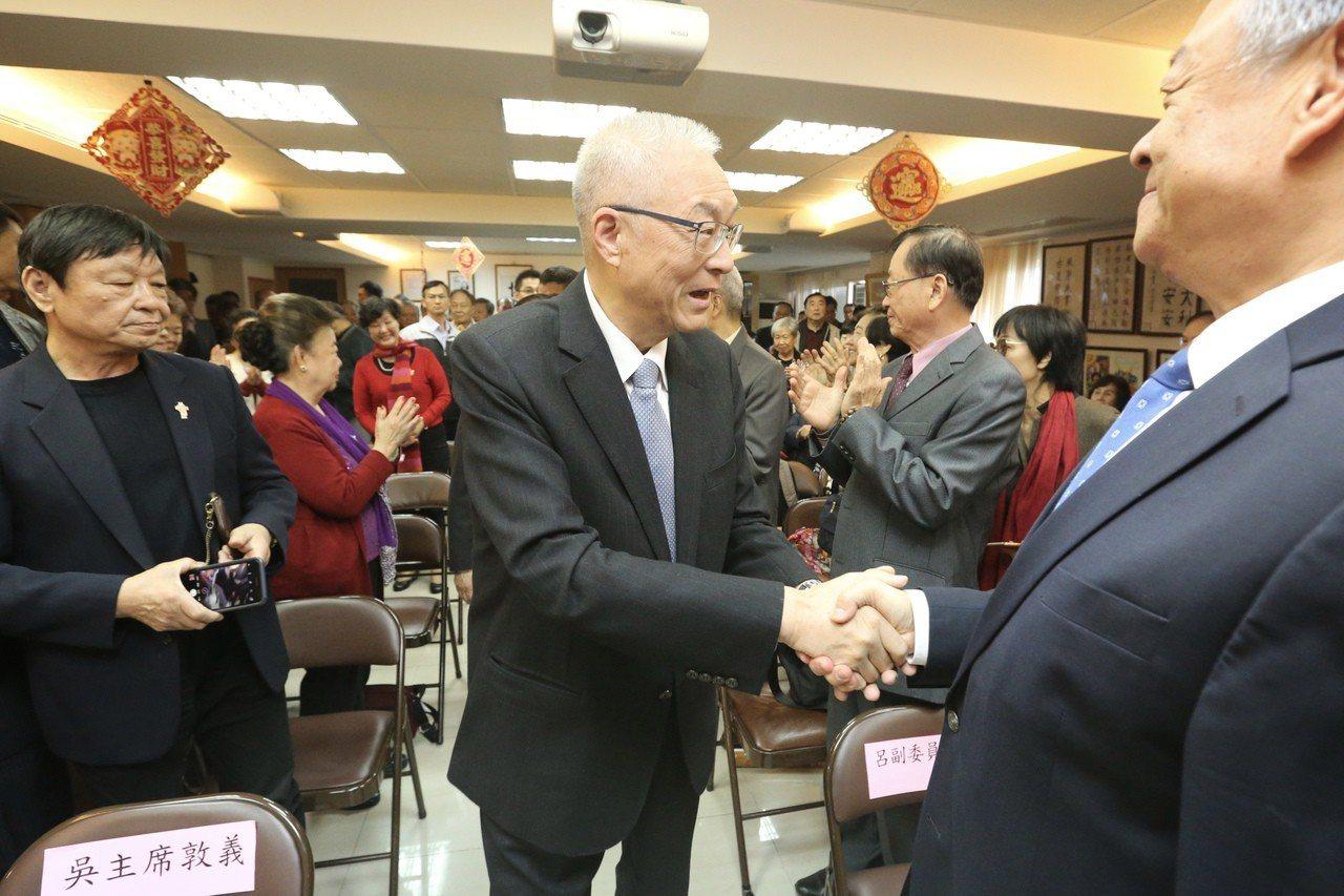 國民黨黨主席吳敦義。聯合報系資料照/記者林伯東攝影