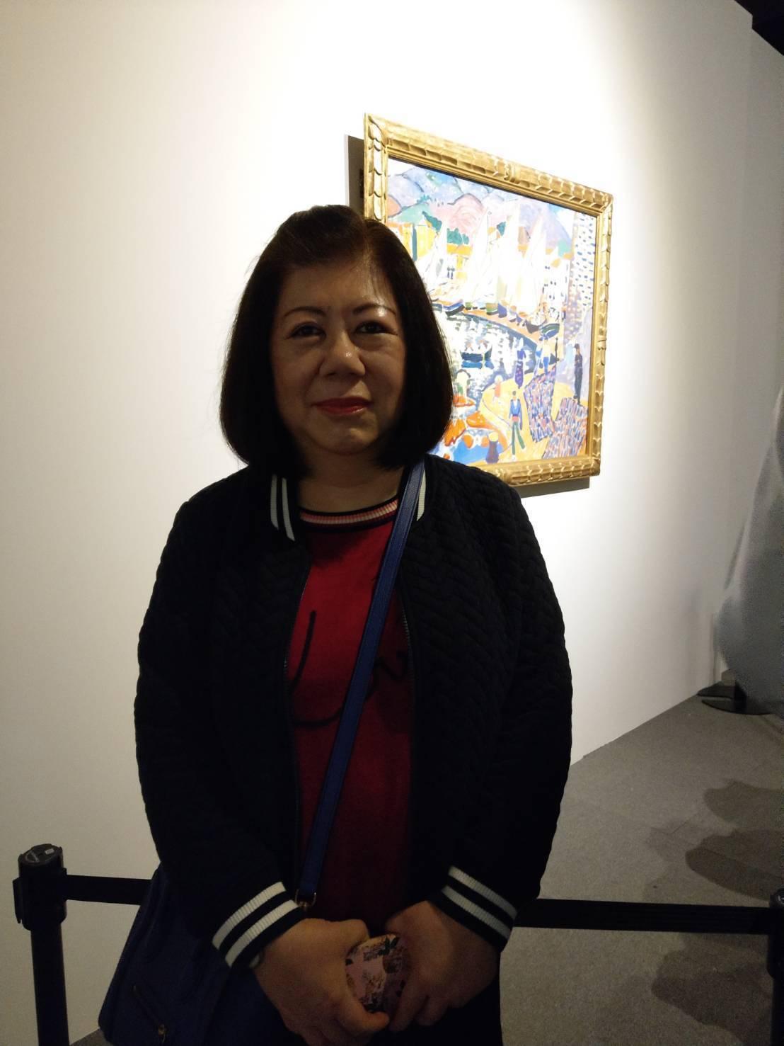 富邦慈善基金會執行長蔡明純。記者蔡靜紋/攝影