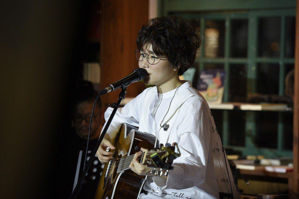 錦安舉辦個人音樂會。圖/主磐音樂提供
