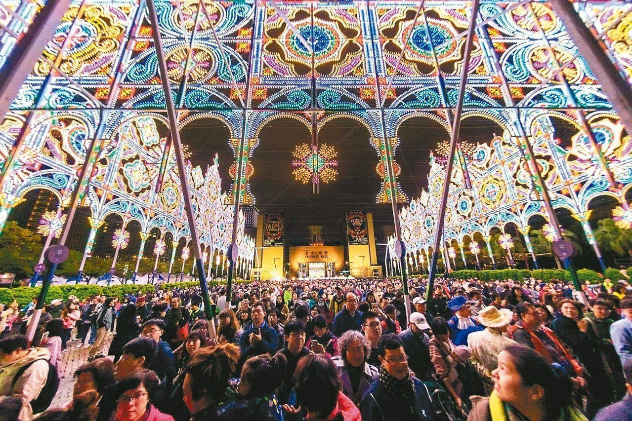 2019台北光之饗宴累計看展人數突破百萬人。 圖/全聯提供