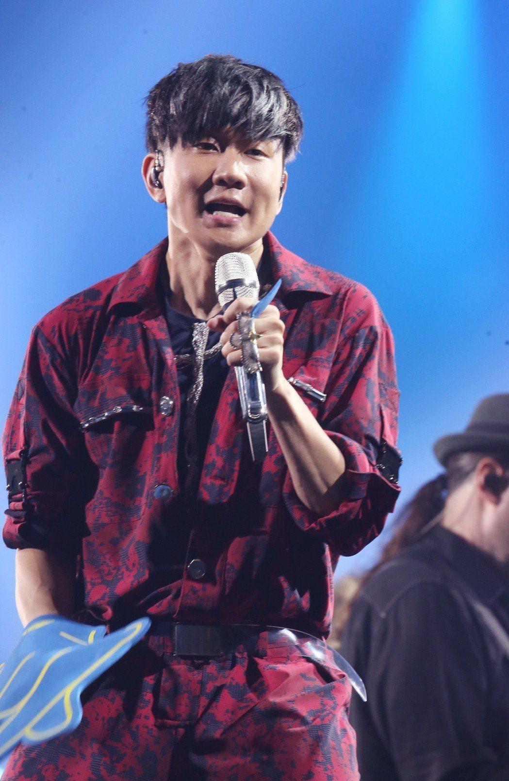 林俊傑(JJ)在小巨蛋進行「聖所」世界巡演。記者徐兆玄/攝影