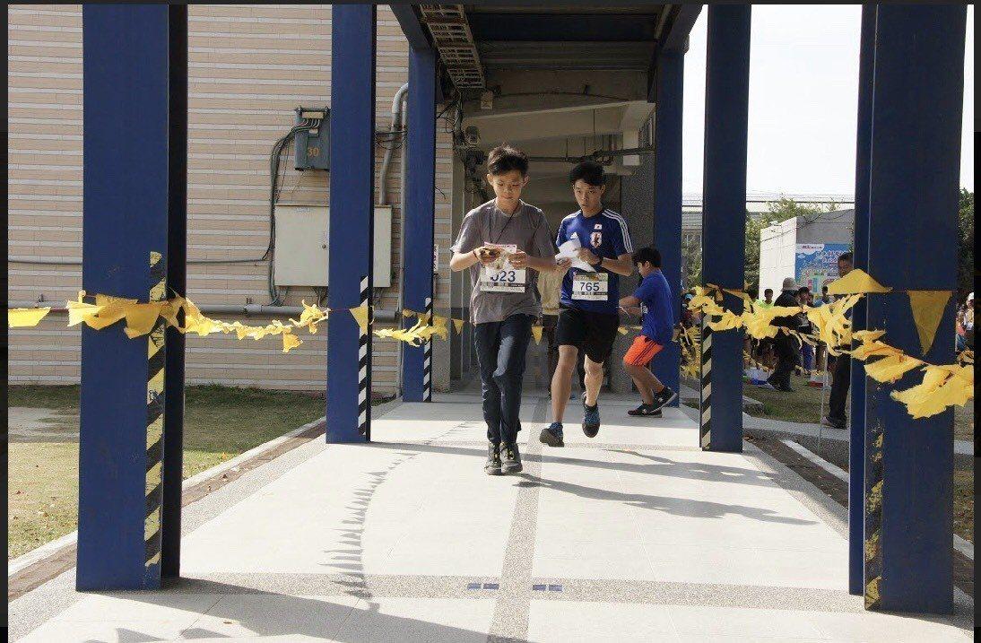 第11屆全國中等學校定向越野錦標賽暨全國排名賽今在台南舉行。圖/中華定向越野協會...