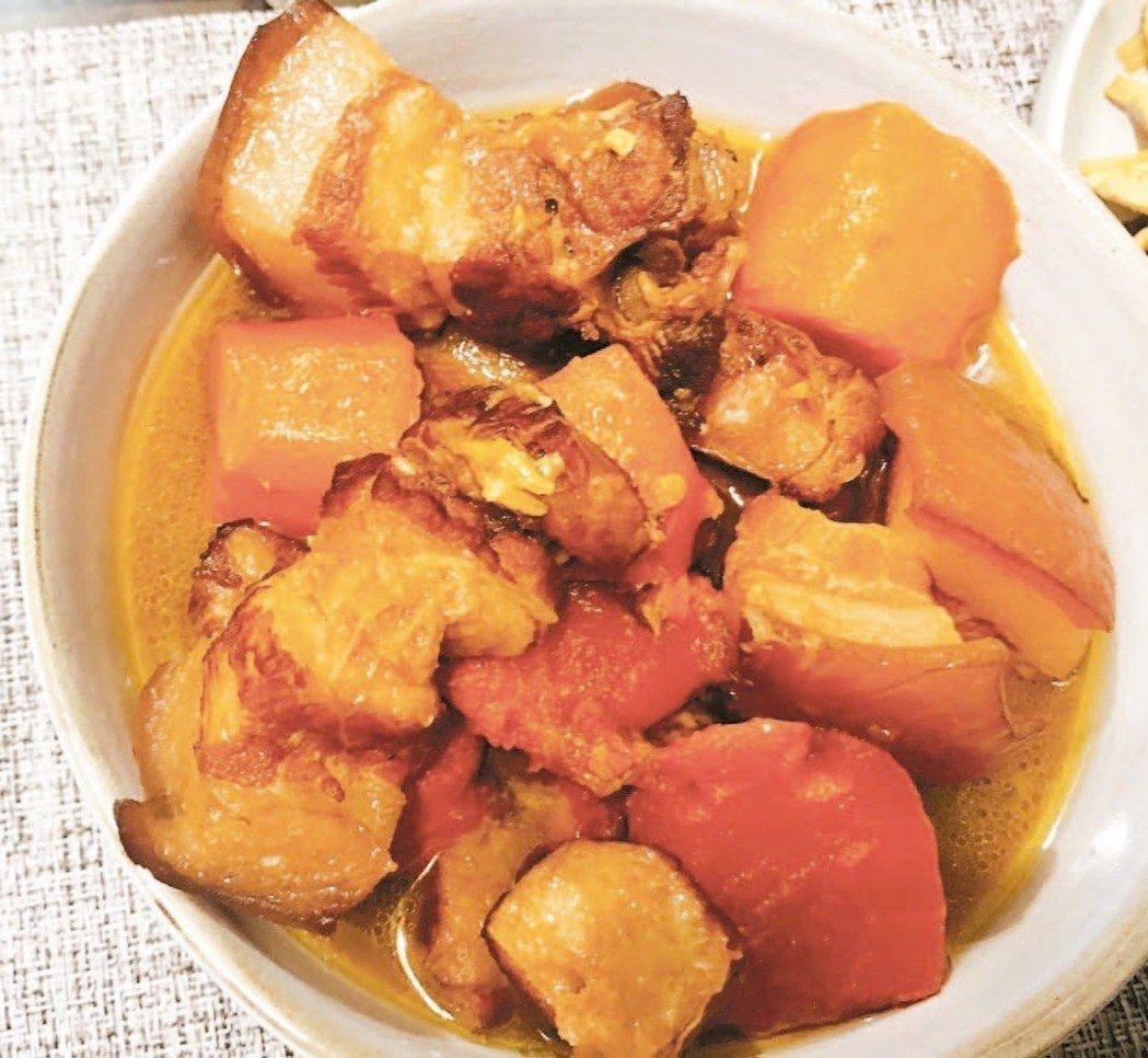 紅蘿蔔燒肉 圖片/媒體人小安提供