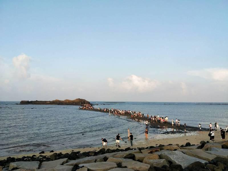 澎湖南寮已連2年入選全球百大綠色旅遊勝地。圖/澎湖縣政府提供
