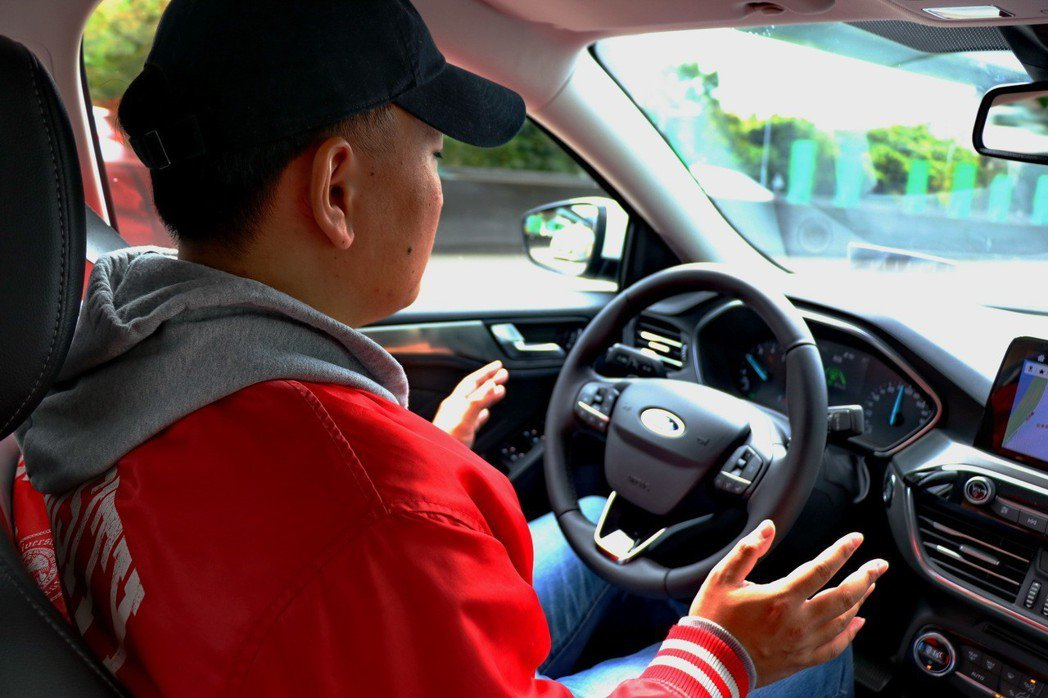 Ford Co-Pilot 360全方位智駕科技輔助系統,可達到Level 2的自動駕駛水準。 記者陳威任/攝影