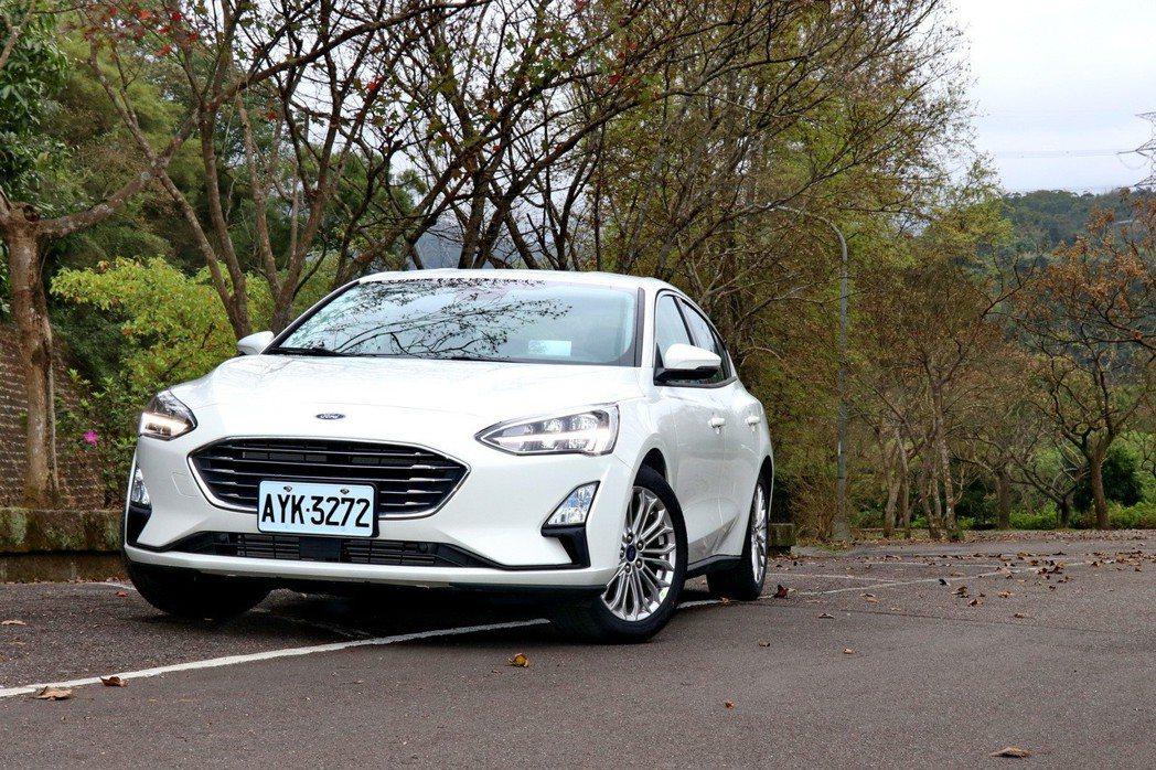 Focus是Ford針對C-segment市場的重點車款。 記者陳威任/攝影